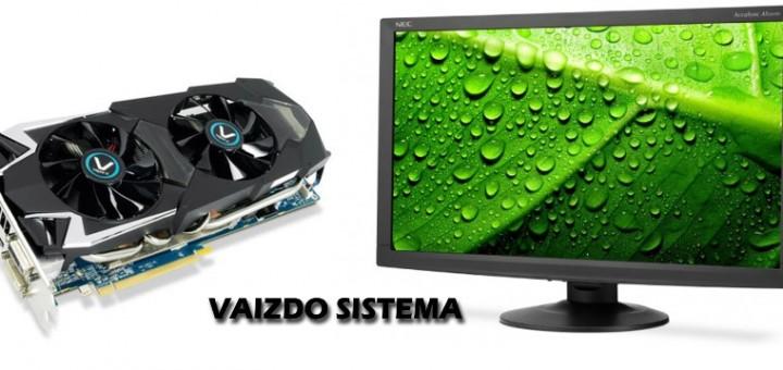 Kompiuterio vaizdo sistema